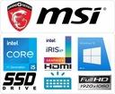 MSI Modern B11M 14 i5-1135G7 16GB SSD512_NVMe W10 Pamięć podręczna procesora 8 MB