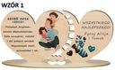 Prezent na Dzień OJca upominek dla TATY wzory Okazja Dzień Ojca