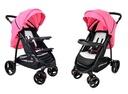Wózek spacerowy NEVADA Summer Baby kolor różowy Kolor Odcienie różu