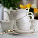 VILLA ITALIA GOLDEN SAND Serwis obiadowy + kawowy Liczba elementów w zestawie 72