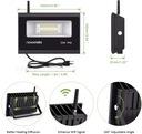 Reflektor zewnętrzny oświetlenie domu RGB LED WIFI Kod producenta 539
