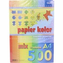 papier kolorowy ksero A4 500 szt 10 kol origami Marka Kreska