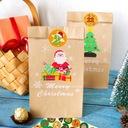 24 szt Boże Narodzenie KALENDARZ ADWENTOWY Kraft z Rodzaj inny