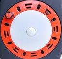 Przedłużacz zwijany w kasecie z lampką 15m 4 gn Marka RUM-LUX
