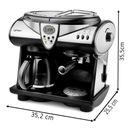 Ekspres do kawy CIŚNIENIOWY PRZELEWOWY Yoer 1850W Model Doppio CCM01BK
