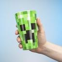 szklanka Minecraft zielona szklanka Creeper Pojemność 400 ml