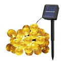 Lampki Solarne Ogrodowe Żarówka Lampa 20 LED 5 M
