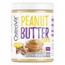 OstroVit Peanut Butter x3 MASŁO ORZECHOWE SMOOTH Produkt nie zawiera barwników cukru GMO konserwantów oleju palmowego