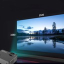 PROJEKTOR RZUTNIK LCD FULL HD 2500LM GŁOŚNIK 140'' Waga produktu 1.25 kg