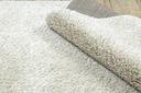 Dywan BOHO shaggy 80x150 frędzle krem #GR3838 Grubość 25 mm
