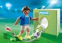 Playmobil 70485 Piłkarz Włoch - Piłka nożna Seria Sport