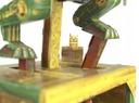 Model do składania Dinozaur maszyna z papieru Marka inna
