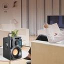 GŁOŚNIK BEZPRZEWODOWY 350W DREWNO RADIO FM BOOMBOX Szerokość produktu 12 cm