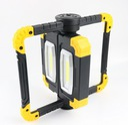 Funkcjonalna LAMPA ROBOCZA LED AKUMULATOROWA Kształt prostokątny