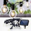 Girlandy Lampki Solarna żarówką Ogrodowa 10 LED Marka inna