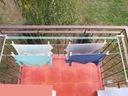 Suszarka na pranie balkon | KOMPLET DŁUGICH ŚRUB Model Suszarka z kompletem długich śrub.