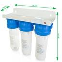 Filtr do wody 3-stopniowy zestaw pod zlew +bateria Waga (z opakowaniem) 4.4 kg