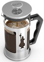 Zaparzacz kawy French Press Bialetti 600ml stalowy Przeznaczenie Do herbaty Do kawy