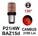 1Super Moc żarówki LED P21/4W BAZ15d 2100lm CANBUS