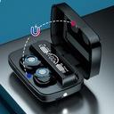 SŁUCHAWKI BEZPRZEWODOWE WODOODPORNE Bluetooth V5.1 Regulacja głośności tak