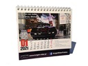 Nieustraszony kalendarz od Knight Rider Polska Kalendarz na rok 2021