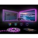 TAŚMA TV LAMPA LED RGB USB LEDY ZAROWKA 4M ZAROWKI