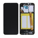 ORG LCD SAMSUNG GALAXY A20E SM-A202F - CZARNY