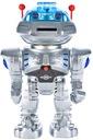 ZDALNIE STEROWANY ROBOT STRZELAJĄCY KRĄŻKAMI Wysokość produktu 30 cm