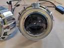 Soczewki BI-LED 33W Dual Ring Osłona DRL Dzienne ! Strona zabudowy Uniwersalne