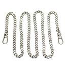 Ozdobny łańcuszek pasek do torebki, srebrny