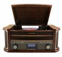 GRAMOFON RETRO RADIO DAB+ FM CD MP3 USB KASETA