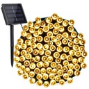 100Led Solarna Lampa 12M Ogród lampki dekoracyjne