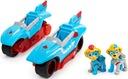 PSI PATROL POJAZD 2w1 MOTOCYKLE + 2 FIGURKI TWINS Marka Spin Master