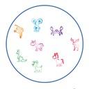 Fiorello pieczątki stempelki zwierzaki ZOO GR-FP26 Płeć Chłopcy Dziewczynki