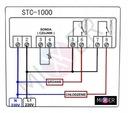 Regulator temperatury sterownik 230V z sondą LED Rodzaj sterownik