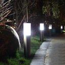 Lampa ogrodowa stojąca słupek do LED E27 45cm Stopień ochrony IP IP44