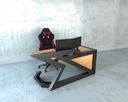Современные рабочий стол промышленных дел ТУРНЕ 160x80x75