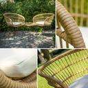 комплект МЕБЕЛЬ садовое БАЛКОН стол +2 кресла Ротанг