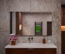 Lustro łazienkowe 70x80 prostokątne z uchwytami Waga produktu z opakowaniem jednostkowym 6 kg