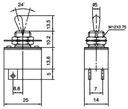 Przełącznik hebelkowy ON-OFF 2poz 4wyp lut.kn3-2 Kod producenta 0000