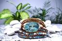 Bransoletka BOHO JASPIS - kamienie naturalne. Rodzaj Rękodzieło