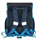 Tornister plecak szkolny Loop Soccer HERLITZ Kolor Czerń Odcienie niebieskiego