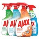 AJAX SUPER zestaw do czyszczenia domu spray 4 szt