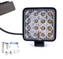 фара робоча 16 светодиод led галогенка 48w 12v 24v hom. e50                                                                                                                                                                                                                                                                                                                                                                                                                                                                                                                                                                                                                                                                                                                                                                                                                                                                   0, mini-фото