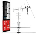 ANTENA DVB-T DVB-T2 FULL HD ISKRA VHF UHF MUX8 HIT EAN 5903175950628