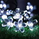 Girlandy Lampki Cherry Ogrodowe Solarne 50 LED 7m Kod produktu M000716