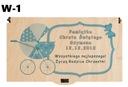 Pudełko na banknoty chrzest prezent upominek wzory Okazje chrzest