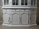Malowana Witryna prowansja w bieli shabby chic Kolekcja 1