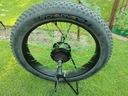 ZESTAW koło silnik 1000W rower FAT sterownik LCD Kod producenta MX01