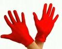 STRÓJ BIEDRONKA KARTY RĘKAWICZKI KLIPSY WŁOSY 4-5L Kolor dominujący czerwony